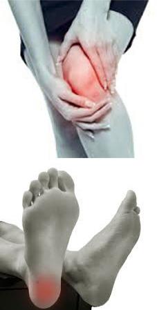 térdfájdalom és zsibbadás